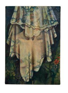 veil, 2008, oil on linen